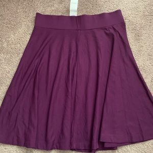 New with tags Loft a-line skirt